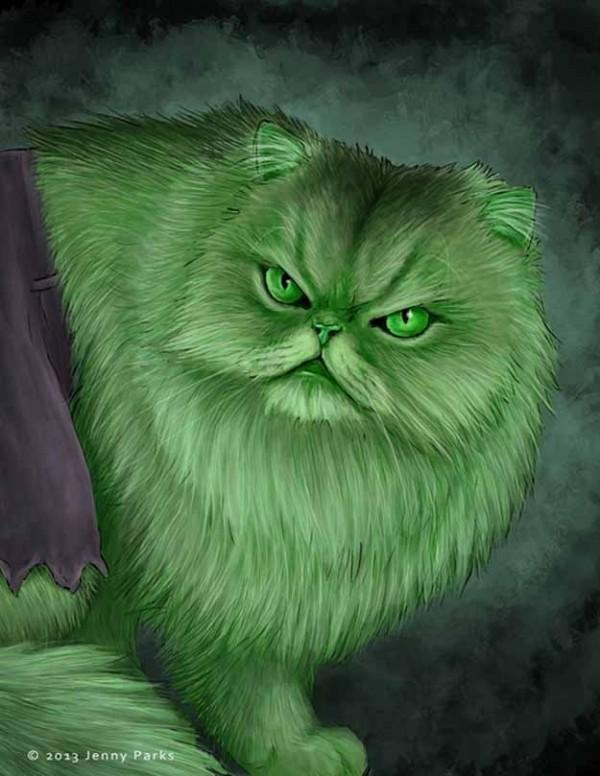 如果復仇者聯盟的角色都是貓星人6