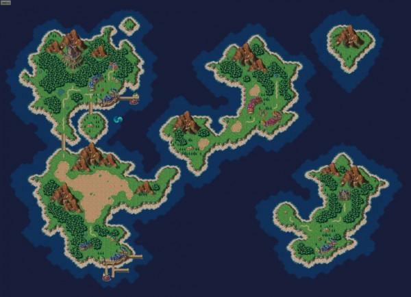 如果RPG遊戲的地圖是真的,地球變這樣1