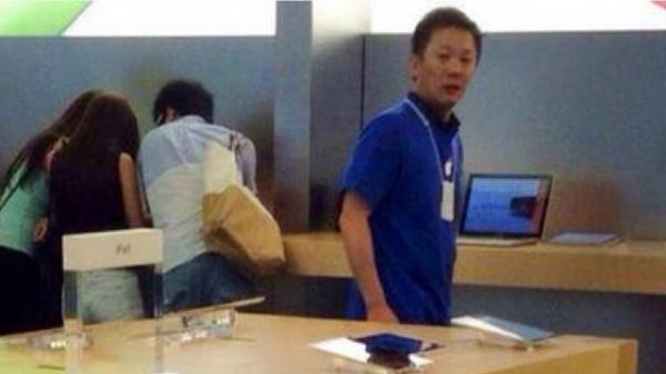 孩子,Apple Store不是尿尿的地方2