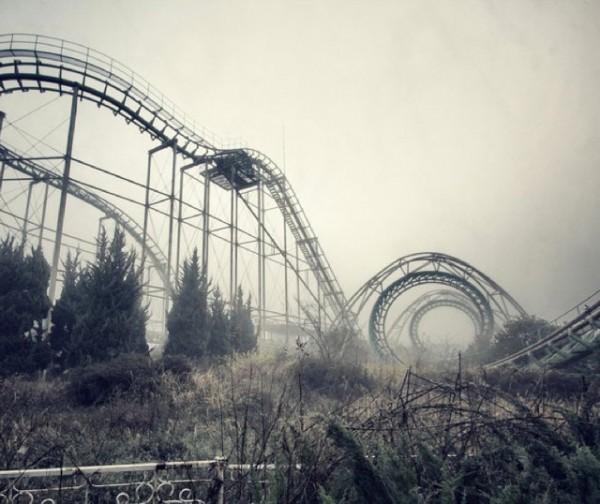 廢棄遊樂園與它們廢棄的回憶1