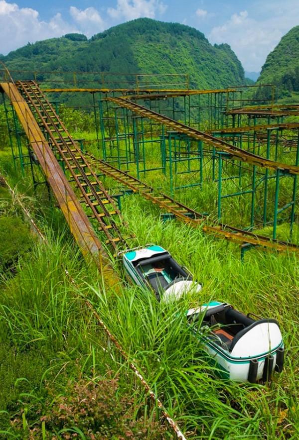 廢棄遊樂園與它們廢棄的回憶13