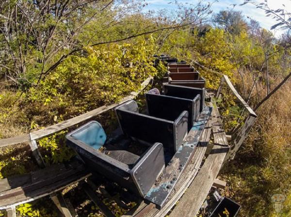 廢棄遊樂園與它們廢棄的回憶19