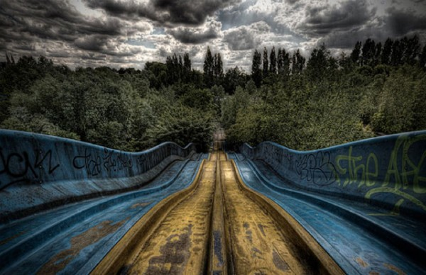 廢棄遊樂園與它們廢棄的回憶2