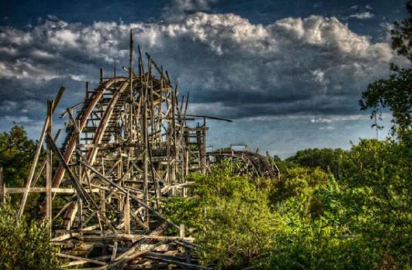 廢棄遊樂園與它們廢棄的回憶3