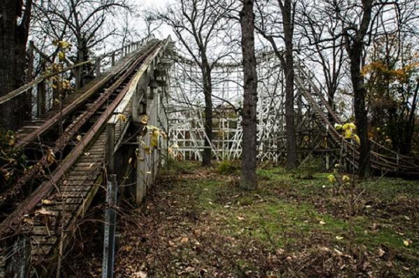 廢棄遊樂園與它們廢棄的回憶8