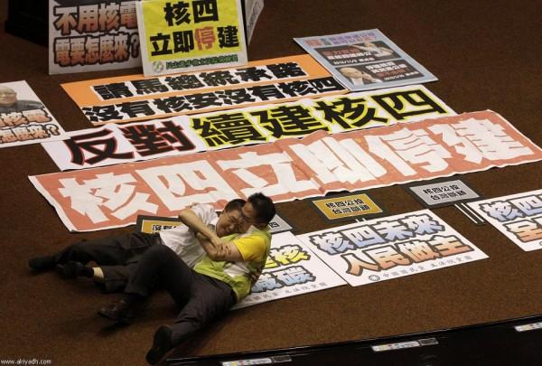 戰鬥力破表的台灣立法院!15