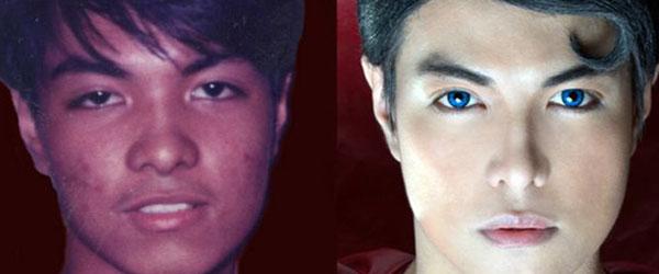 把自己整型成超人的菲律賓人