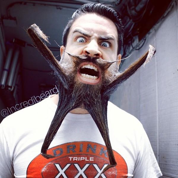 挑戰人類鬍子的極限!4