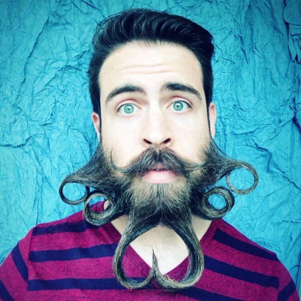 挑戰人類鬍子的極限!9