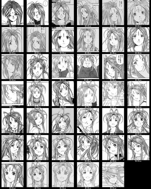 日本動漫角色的畫風演化3