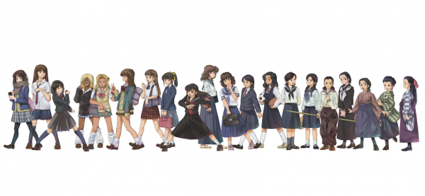 日本水手服的演化(明治時期至今)2