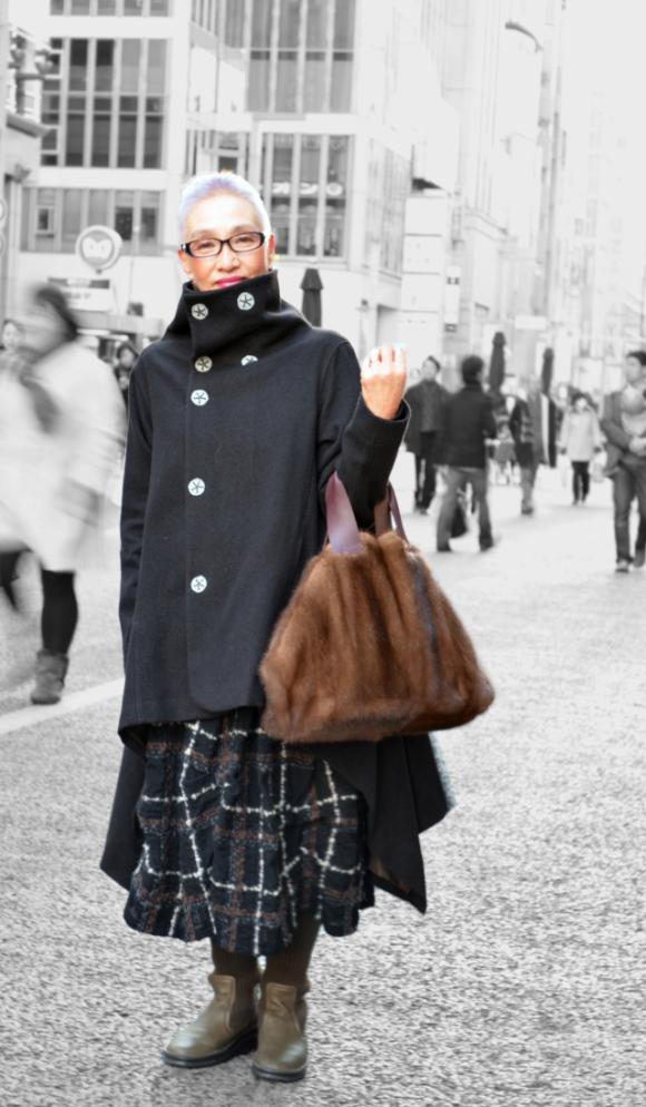 老人也可以潮!日本的時尚阿嬤們1
