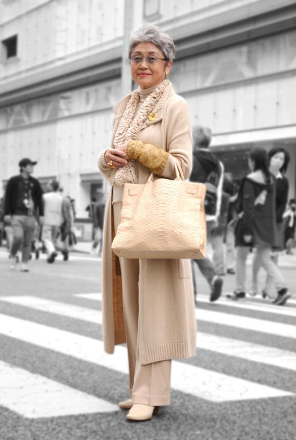 老人也可以潮!日本的時尚阿嬤們14