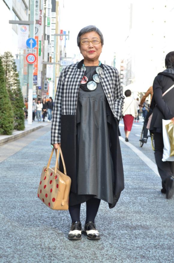 老人也可以潮!日本的時尚阿嬤們15
