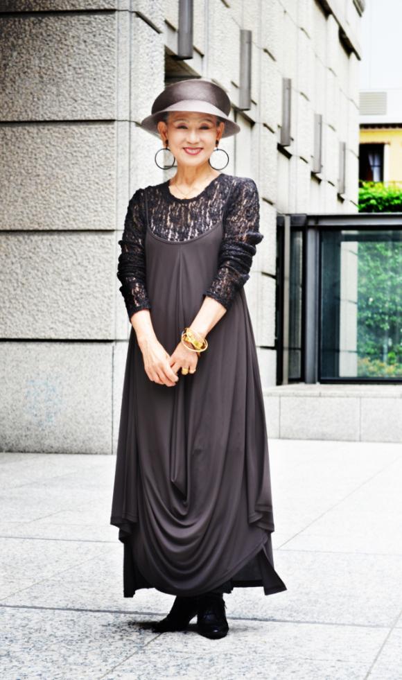 老人也可以潮!日本的時尚阿嬤們5