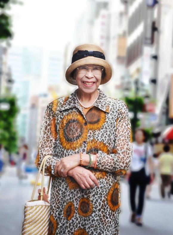 老人也可以潮!日本的時尚阿嬤們8