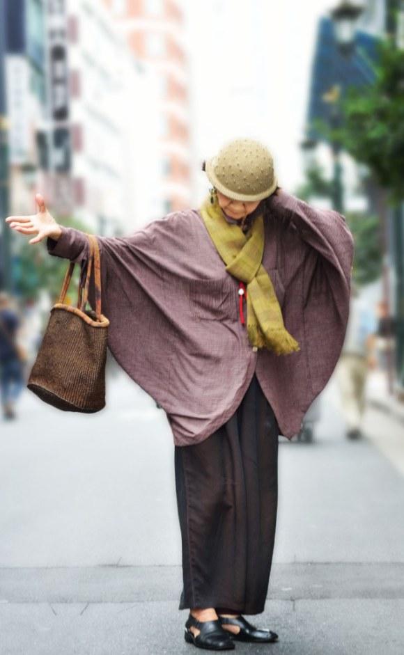 老人也可以潮!日本的時尚阿嬤們9
