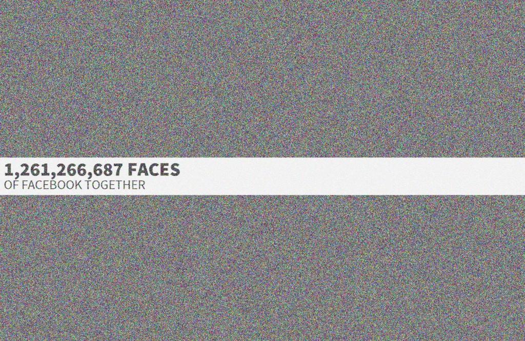 臉書12億會員大頭照通通擠進一個網頁!1