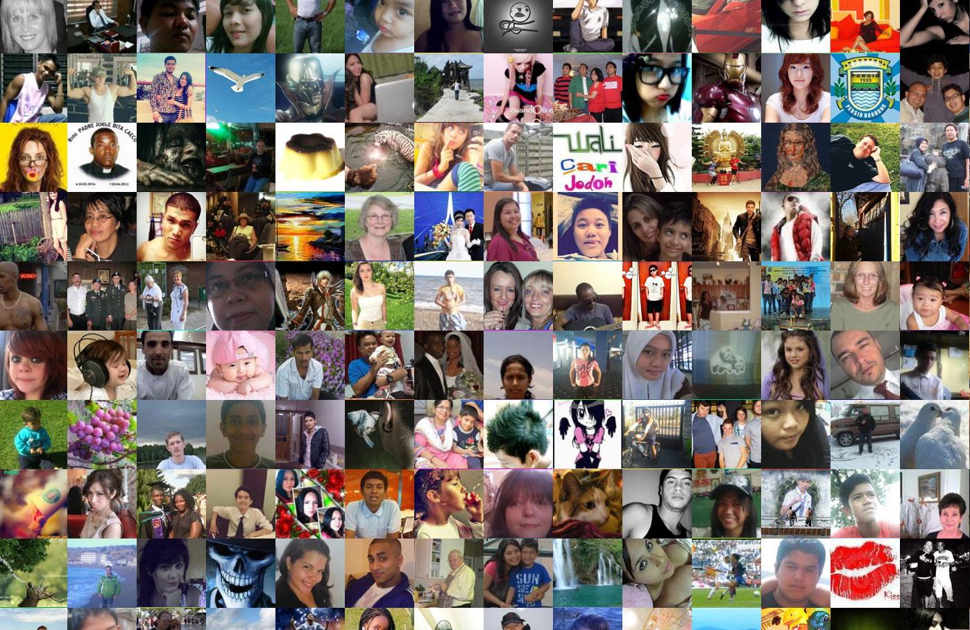 臉書12億會員大頭照通通擠進一個網頁!2
