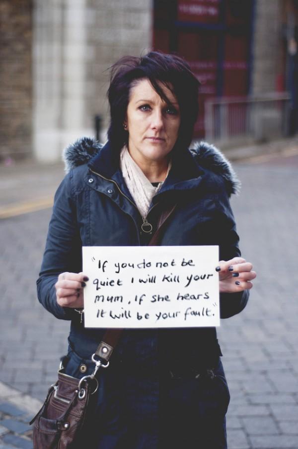 被強暴的人勇敢寫下強暴犯說過的話17