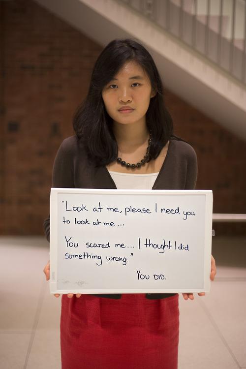 被強暴的人勇敢寫下強暴犯說過的話22