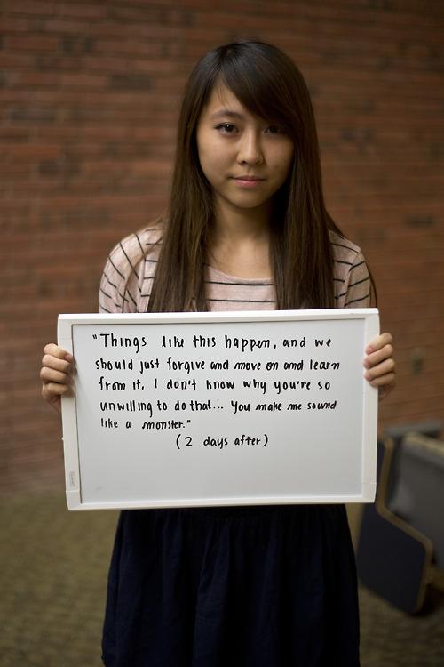 被強暴的人勇敢寫下強暴犯說過的話23