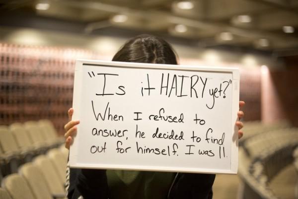 被強暴的人勇敢寫下強暴犯說過的話6