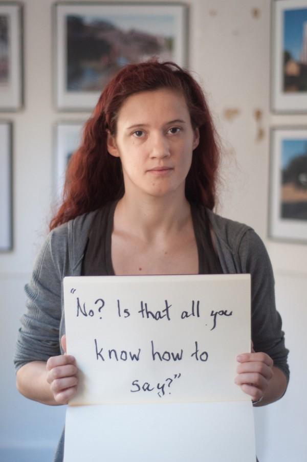 被強暴的人勇敢寫下強暴犯說過的話7