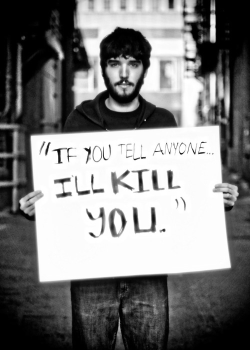 被強暴的男生寫下強暴犯說過的骯髒話22