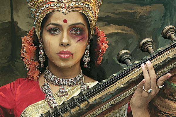 讓印度人都沉默的被虐待的女神1