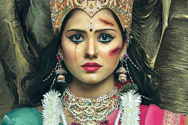 讓印度人都沉默的被虐待的女神7