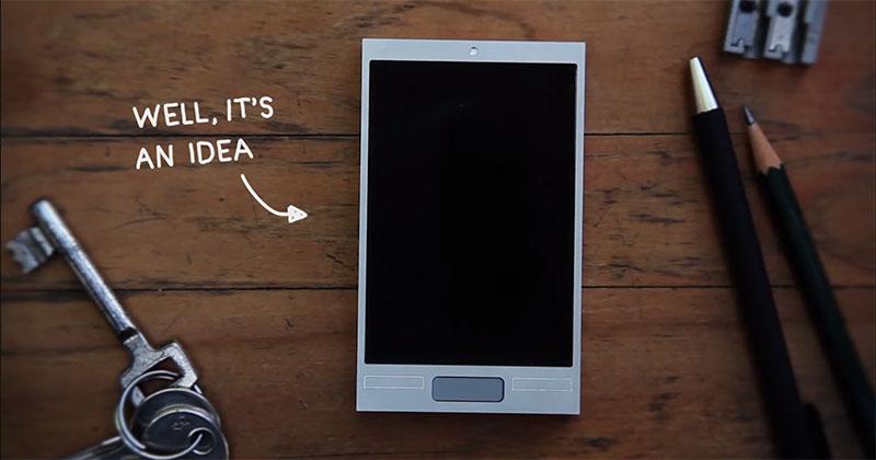 這是可能擊敗iPhone和任何手機的概念!1