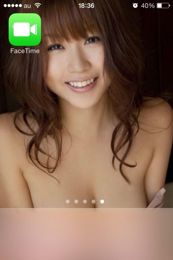 iOS7被日本網友惡搞成A片馬賽克2