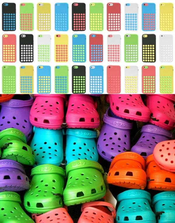 iPhone 5C是手機界裡的布希鞋2