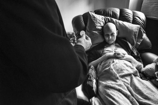 丈夫紀錄下老婆抗癌過程,結局太過寫實20