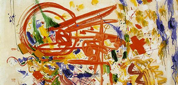 你能分辨現代藝術跟小孩塗鴉的差別嗎?5