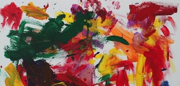你能分辨現代藝術跟小孩塗鴉的差別嗎?8