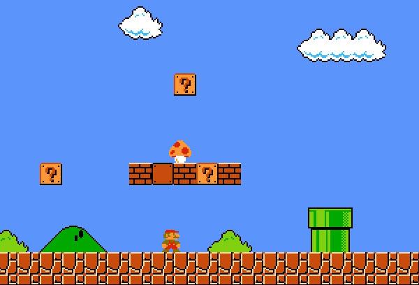 來玩線上版的超級瑪莉歐吧!(全螢幕)