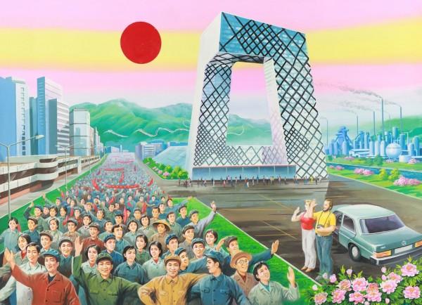 北韓人眼中的中國根本是未來世界1