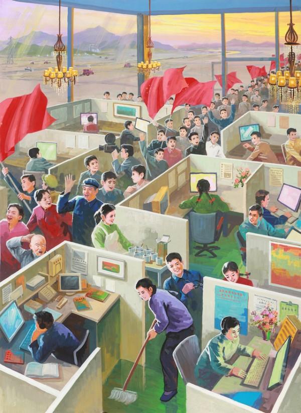 北韓人眼中的中國根本是未來世界6
