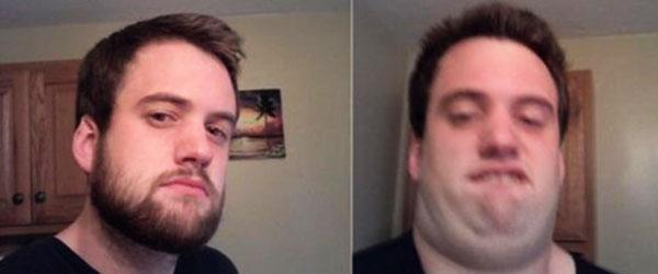 女生靠頭髮修飾臉型,男生靠鬍子