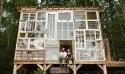 很宮崎駿的森林窗戶小屋