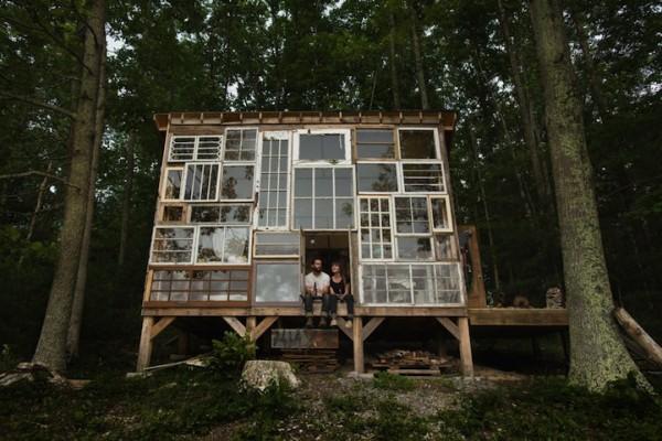 很宮崎駿的森林窗戶小屋1