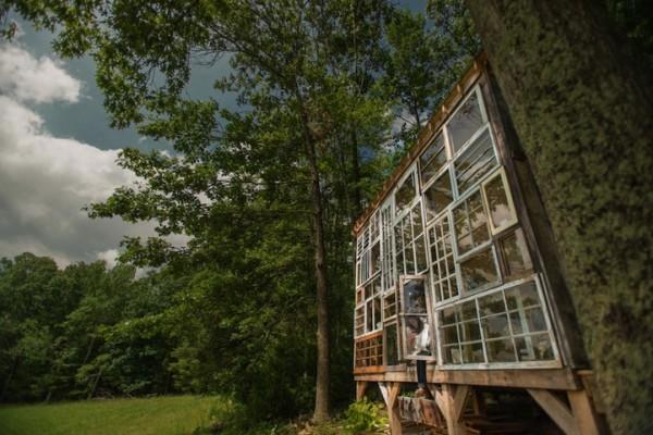 很宮崎駿的森林窗戶小屋2