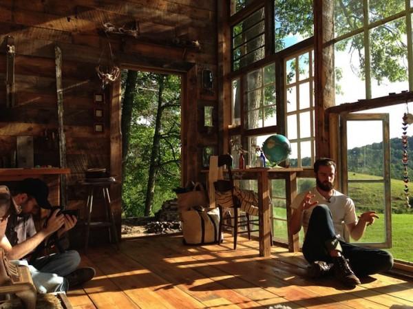 很宮崎駿的森林窗戶小屋3