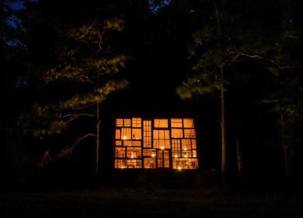 很宮崎駿的森林窗戶小屋6