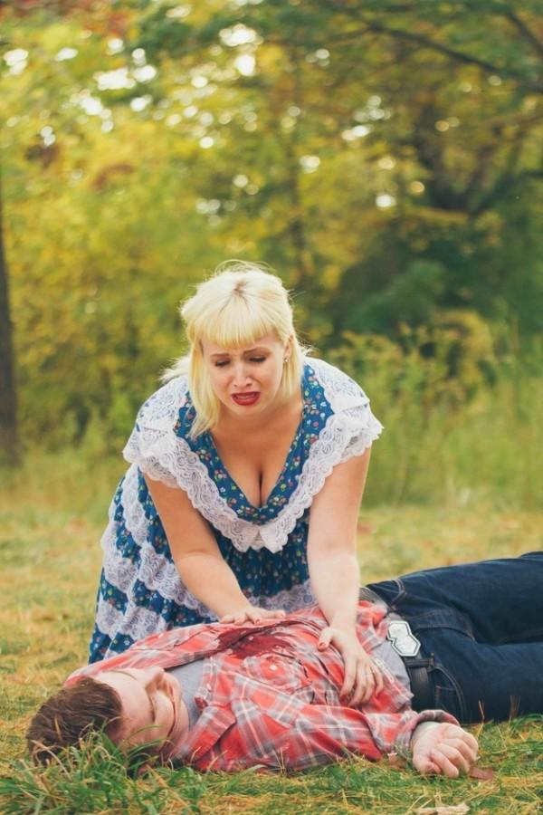 拍到最後都死光的血腥婚紗照18
