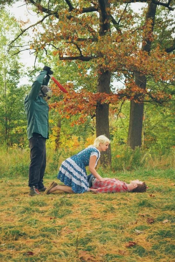 拍到最後都死光的血腥婚紗照19