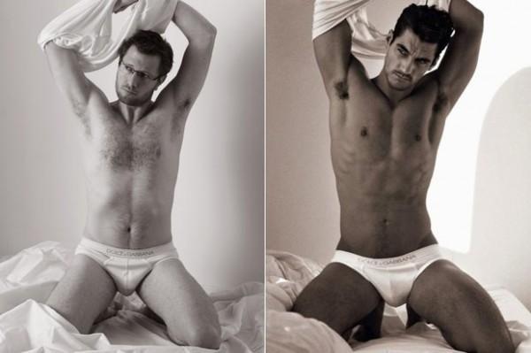 素人挑戰男模內褲廣告,成果...就還好1