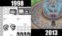10款經典遊戲的今昔比較圖